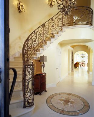 13 Savvy Ideas for Decorating Stairs: Stick the Landing