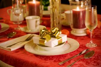 Elegant Christmas setting