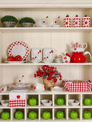 Cabinet shelves