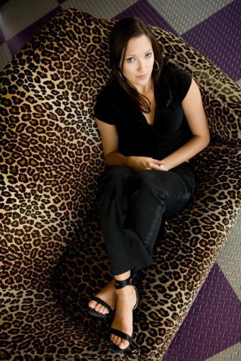 leopard print sofa