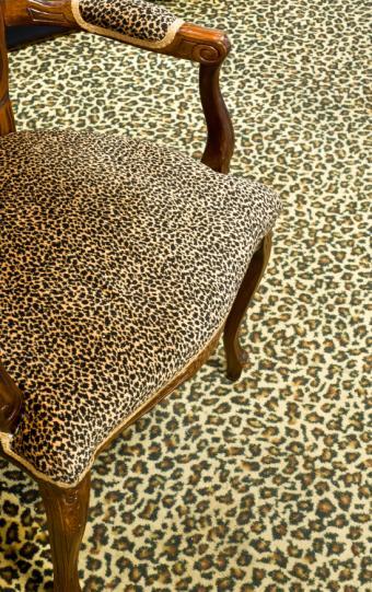 leopard print carpet