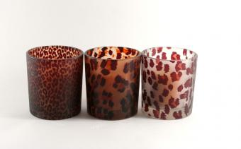 leopard candles