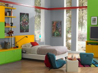 22 Creatively Colorful Paint Ideas for Kids Rooms