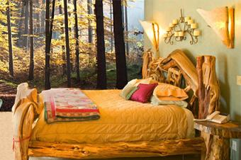 Forest Themed Bedroom Design Ideas