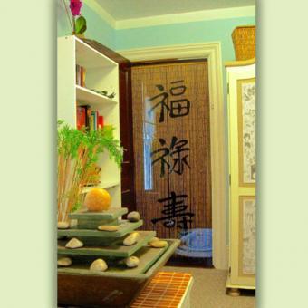 Asian Beaded Curtain