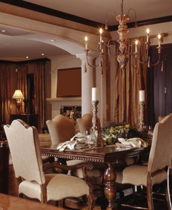 Tudor style dining room set