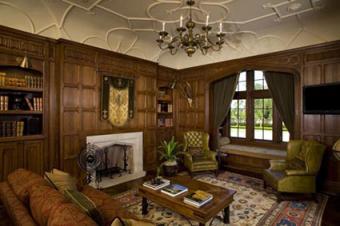 Dark paneling by Tudor Artisans