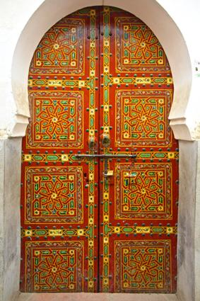 Moroccan Cedar Door