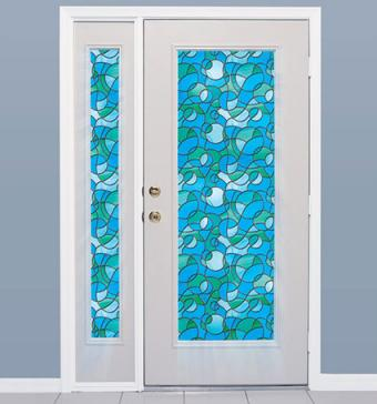 Odyssey Stained Glass Window Film