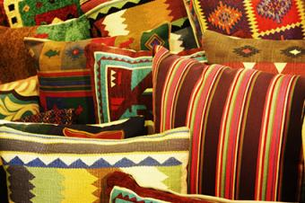 Colorful Southwestern Pillows