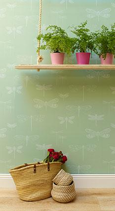 Dragonfly Wallpaper at Porter's Paints