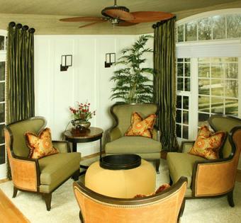 Green room decor by Chelle Design