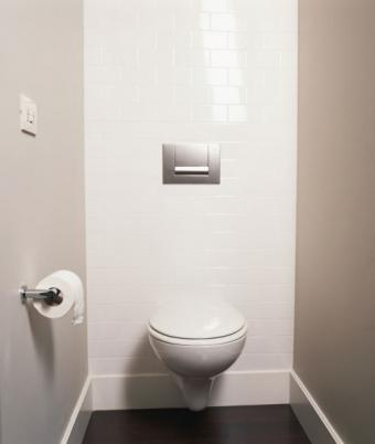 View of toilet room
