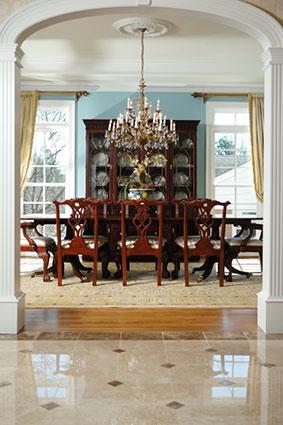 Stylish dining room