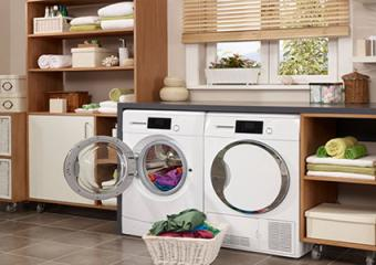 storage and utility room combined