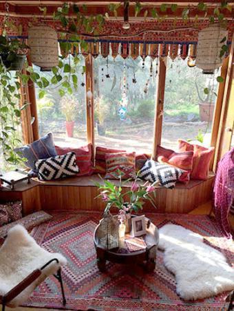 Rachel's Adelaide Bohemian home