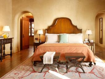 Italian style Mediterranean bedroom