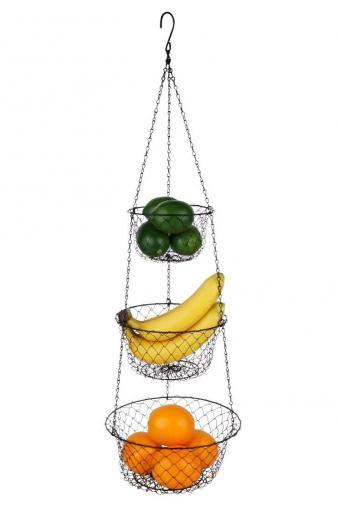Tai-ying 3-Tier Wire hanging fruit baskets