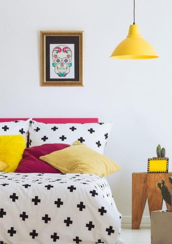 art on wall inspires interior design