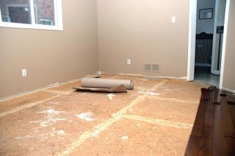 DIY Prep for Installing Hardwood Floors