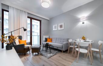 Modern stylish interior design