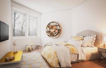 cozy bedroom interior design