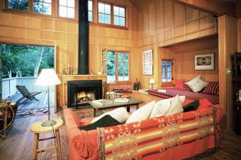 Adirondack Cabin interior