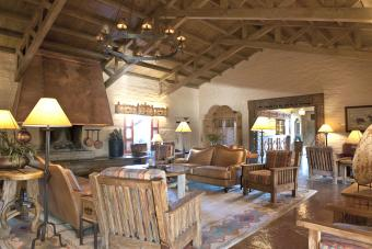 Southwestern Style Great Room