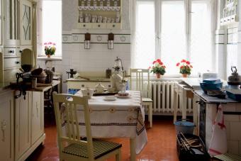 Original 1940s kitchen