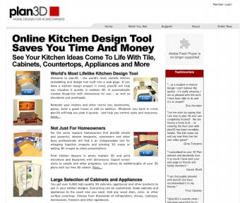 Plan3D Online Kitchen Design