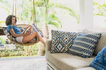 Summer fun accent cushions