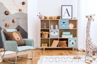 20 Adorably Creative Playroom Storage Ideas