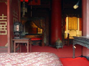 Chinese palace room