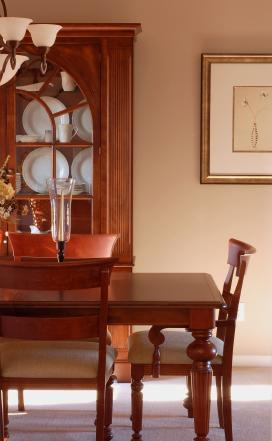Federal style dining furniture