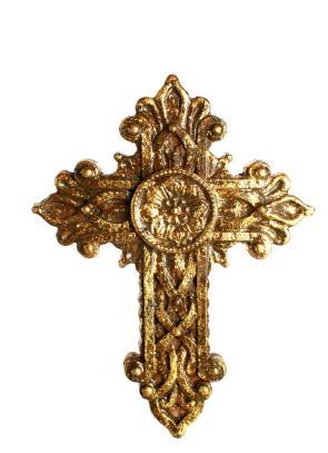 A decorative cross