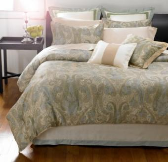 Rich Paisley Patterns for Your Home: From Dinnerware to Bedding