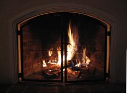 Beautiful Fireplace Screen