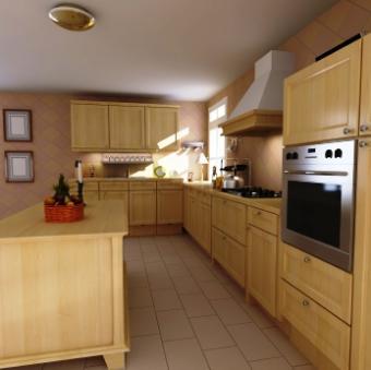 Wooden Kitchen Hood Styles and Design Ideas