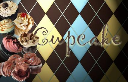 Cupcake art decor