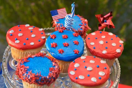 edible 4th of July decor