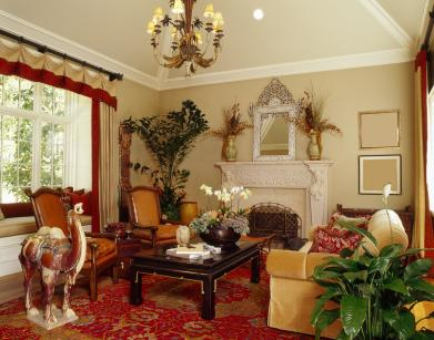 asian theme living room transitional style interior design lovetoknow 12768