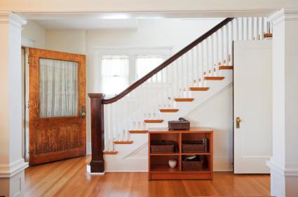 small foyer