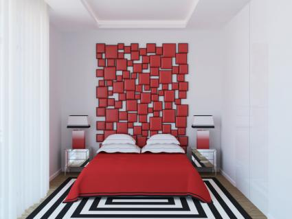 Canvases headboard
