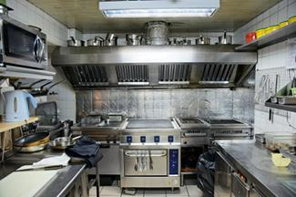 Commercial kitchen design lovetoknow for Small commercial kitchen layout ideas