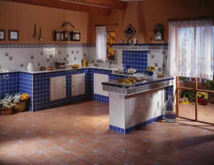 Country kitchen design lovetoknow - Decoraciones de pisos ...