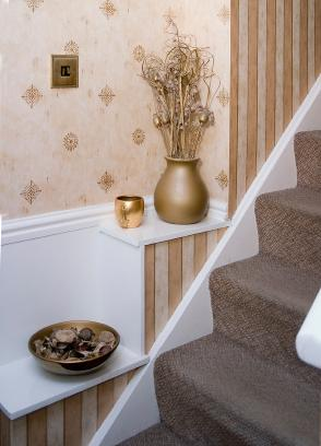 Ideas For Decorating Stairs Lovetoknow