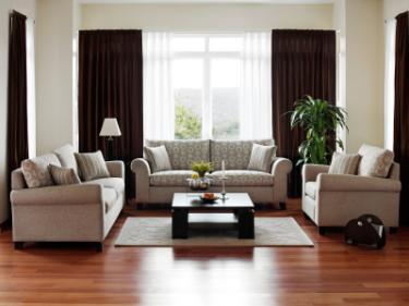 Interior design for living rooms lovetoknow for U shaped living room layout