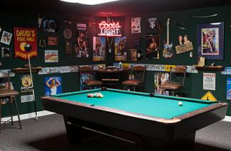 Pool Hall Game Room