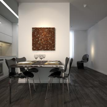 partial walls act as room dividers