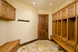 Mud room with storage